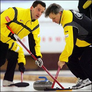 Il curling - Foto